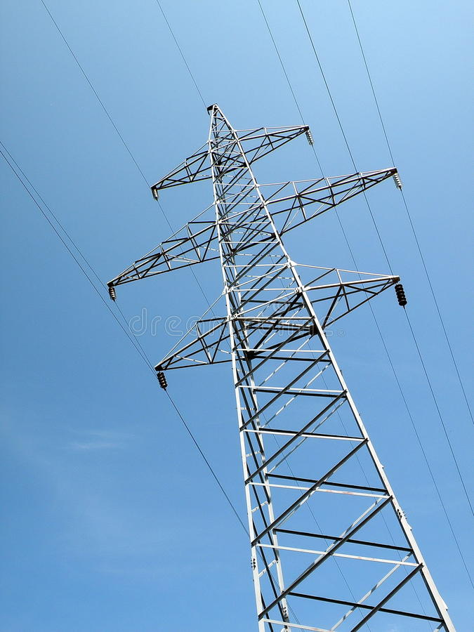 Download Power lines stock image. Image of high, industry, tall - 15035565