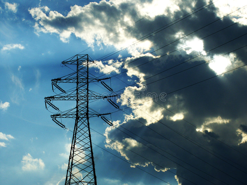 Download Power Lines stock image. Image of formation, bright, ecological - 172481