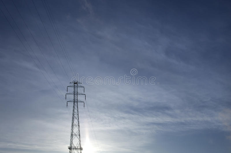 Download Power lines stock photo. Image of cables, wire, grid - 18186512