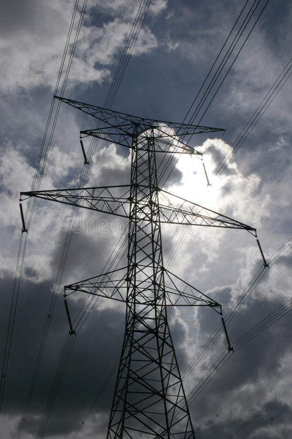 Download Power lines stock image. Image of connection, communicate - 188081