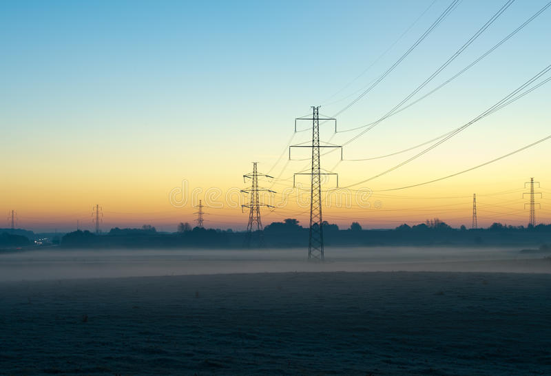 Download Power lines stock photo. Image of generation, colour - 21623750