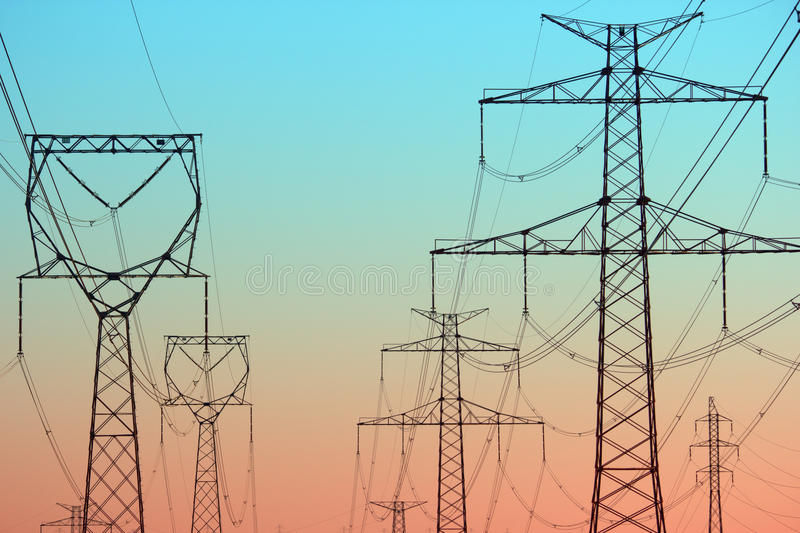 Download Power Lines Stock Images - Image: 24544564