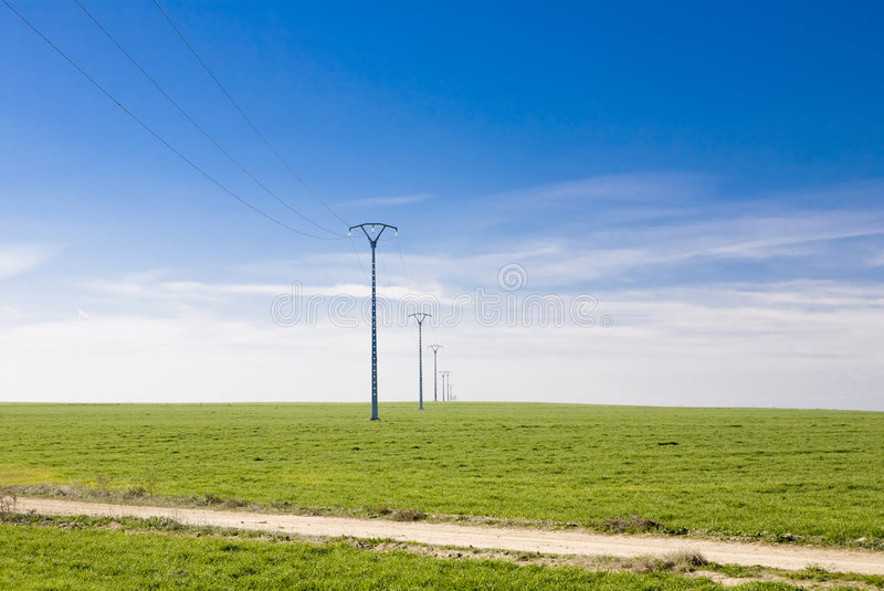Download Power Lines stock photo. Image of transmission, electrical - 4093260