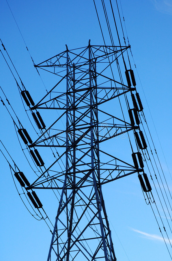 Download Power lines stock photo. Image of electricity, lines, tower - 45184