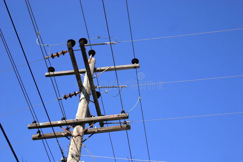 Download Power lines stock image. Image of communication, electric - 70587