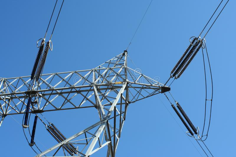 Download Power lines stock image. Image of power, industry, equipment - 8668019