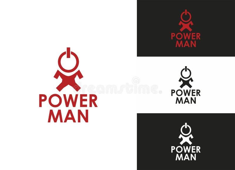 Download Power Man stock vector. Image of electronic, sheme, nano - 27559794