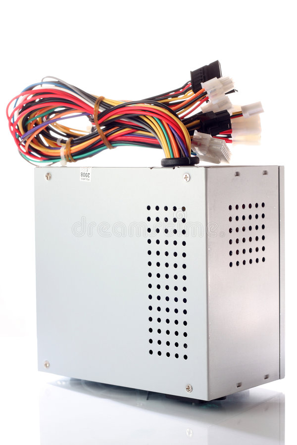 Power module for PC royalty free stock photos