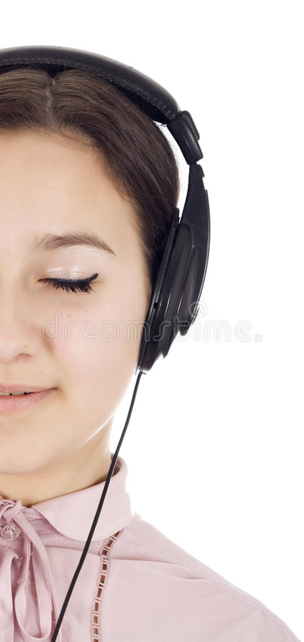 Download In the power of music stock photo. Image of face, background - 23545010