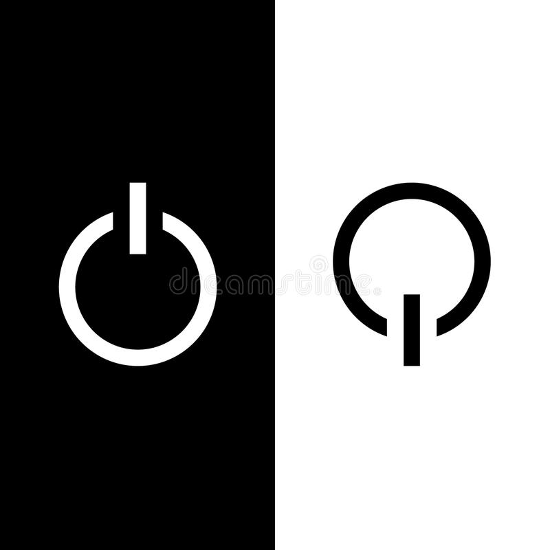 Free Power On And Powe Off Icon Great For Any Use. Vector EPS10. Stock Image - 50476651