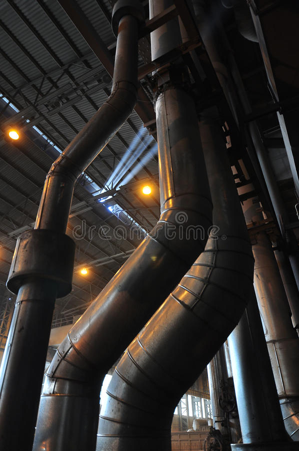 Power Pipes royalty free stock photography