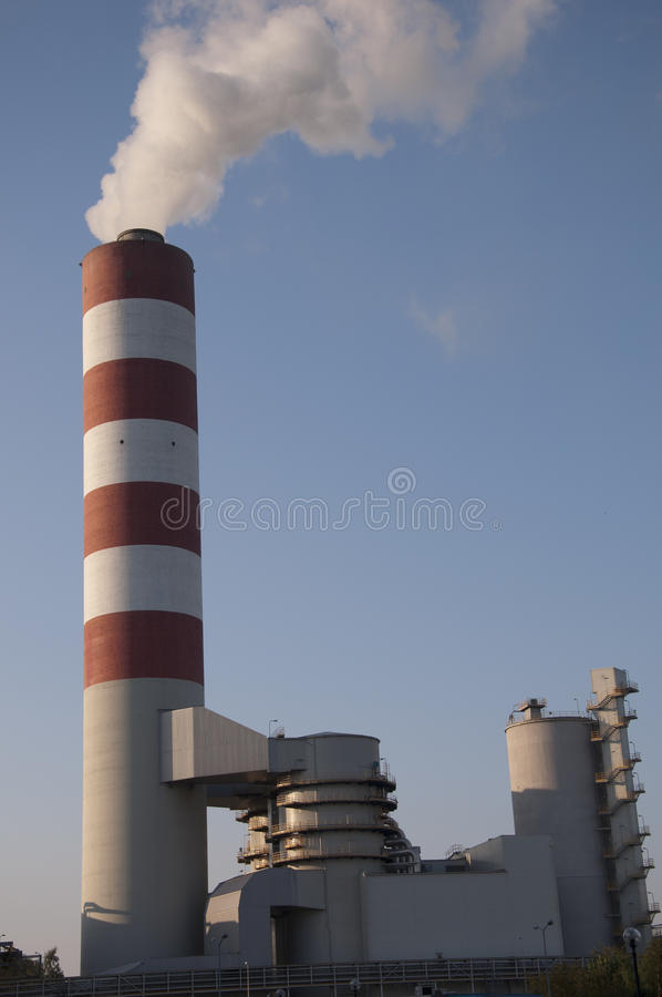 Download Power Plant stock photo. Image of electricity, blue, coal - 21337508