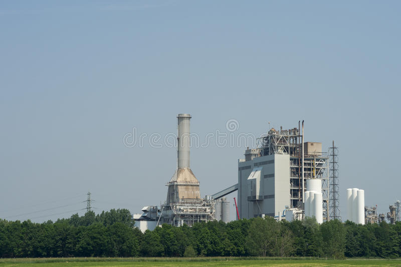 Download A power plant stock photo. Image of plant, electric, pollute - 24933828