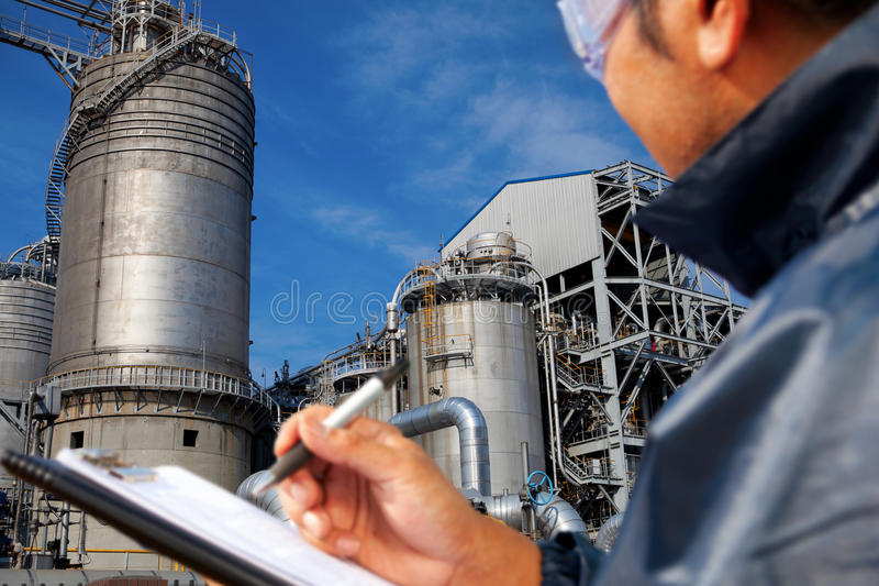 Download Power plant stock image. Image of inspection, petrochemical - 28363579