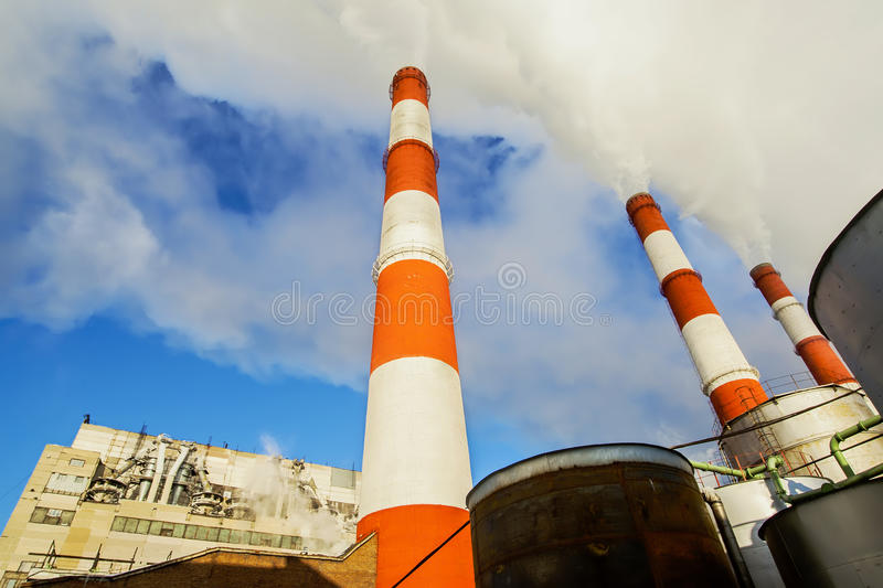 Download Power Plant stock image. Image of building, outdoors - 62357901