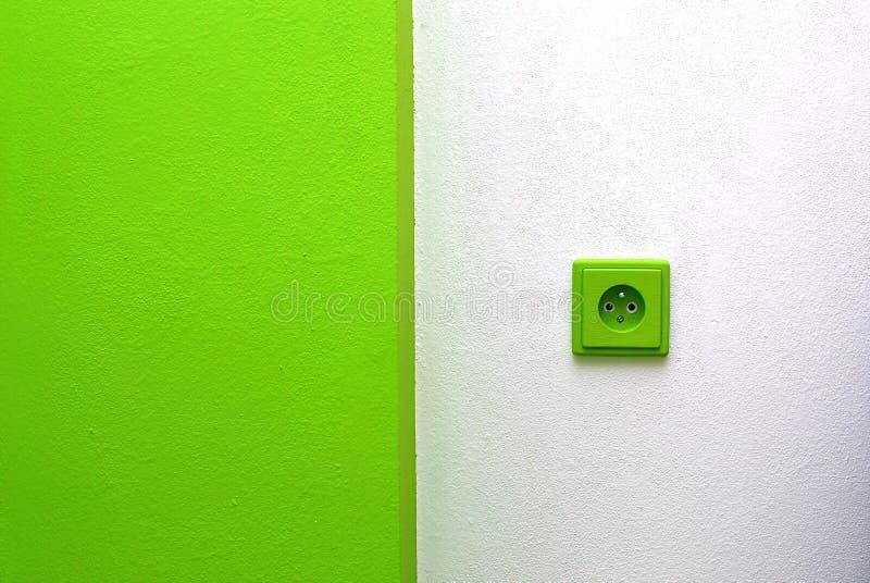 Power plug stock image