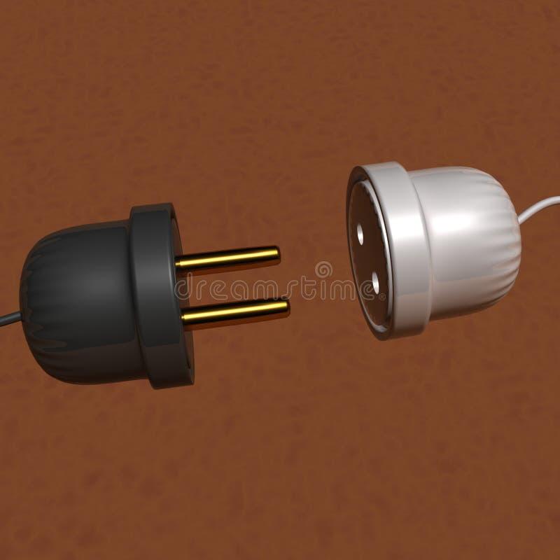 Power Plug Royalty Free Stock Photos