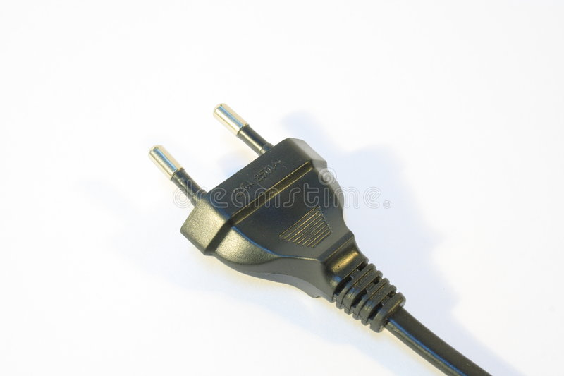 Download Power Plug stock image. Image of rubber, wired, dangerous - 5338027