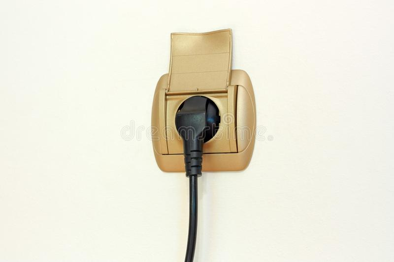 Download Power Plug and Socket stock photo. Image of consumption - 5189374