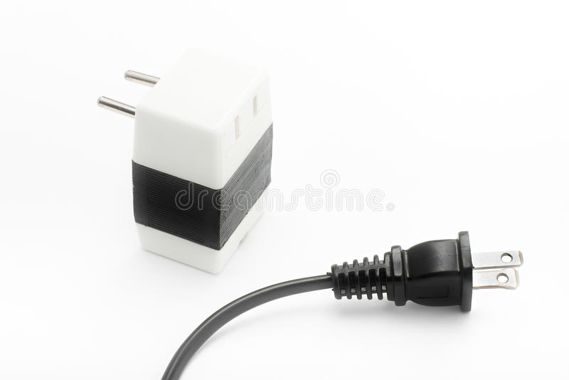 Download Power Plug And Voltage Converter Stock Image - Image of converter, household: 11591781