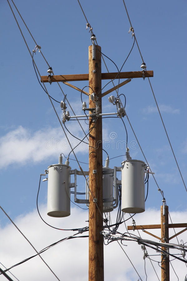 Power pole stock photos