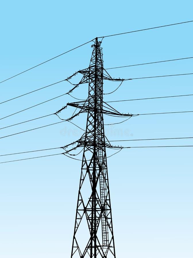 Power pole royalty free stock image