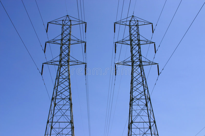 Download Power poles stock image. Image of wire, energy, power, generator - 705815