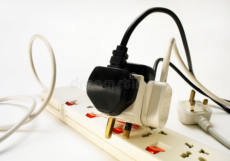 Power on power off stock images