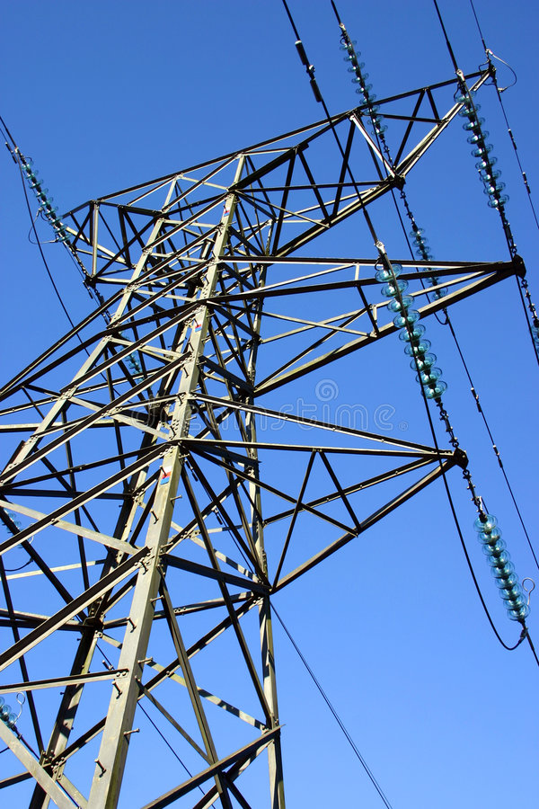 Power Pylon royalty free stock images