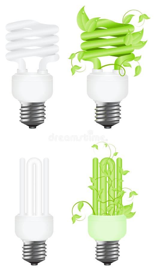Power saving consept stock illustration