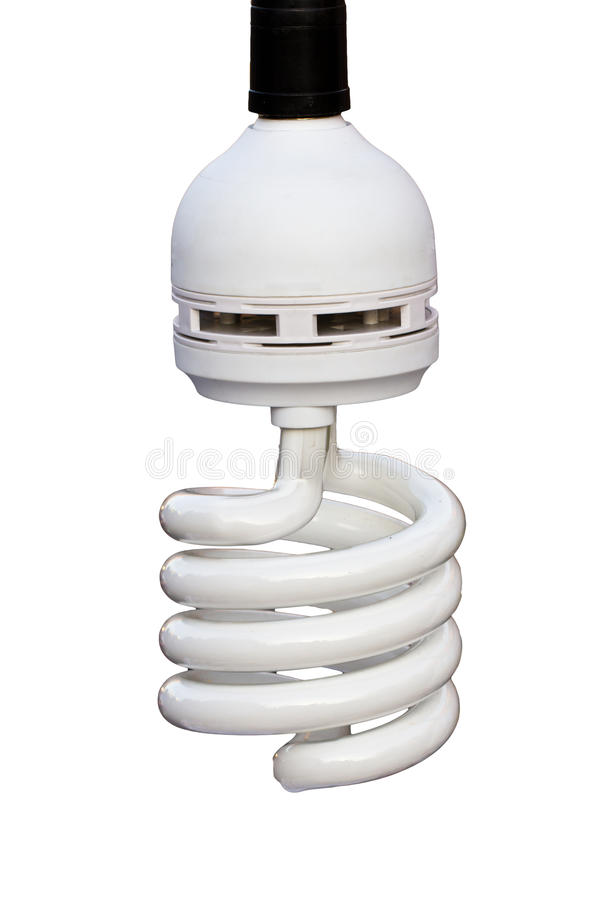 Power saving light bulb royalty free stock photos