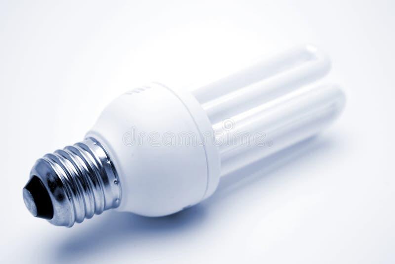 Power saving lightbulb. Power saving light-bulb, studio shot royalty free stock photos