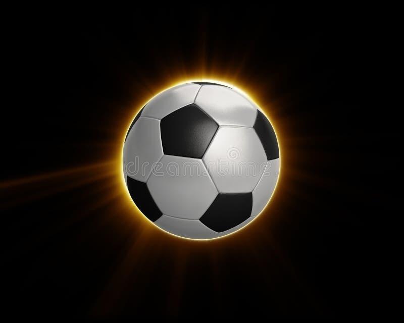 Power Soccer Football Flare Stock Photos