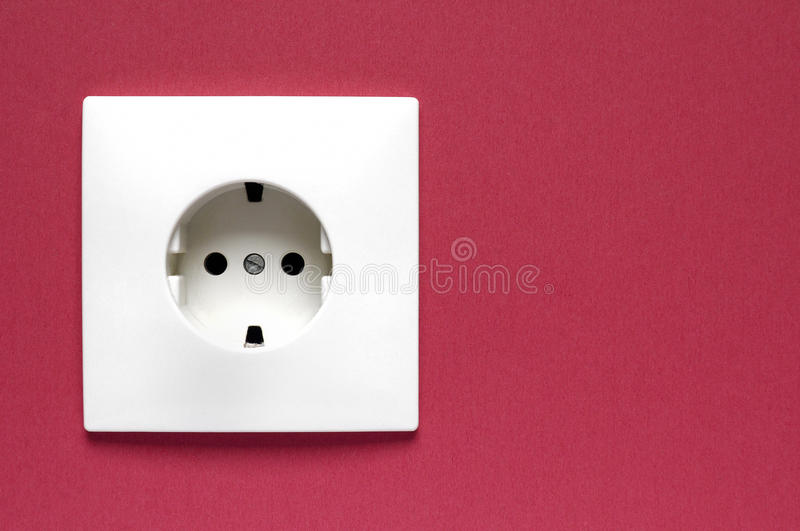 Download Power Socket on a wall stock image. Image of lightbulb - 24542687
