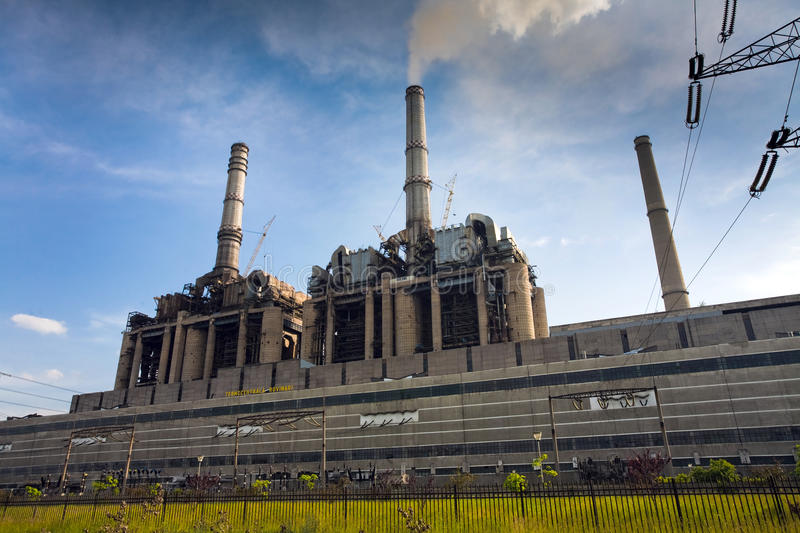 Download Power station stock photo. Image of dust, global, fossil - 17723682