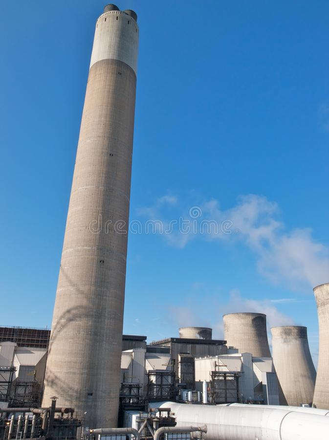 Download Power station stock image. Image of coal, towers, 2000 - 20088539