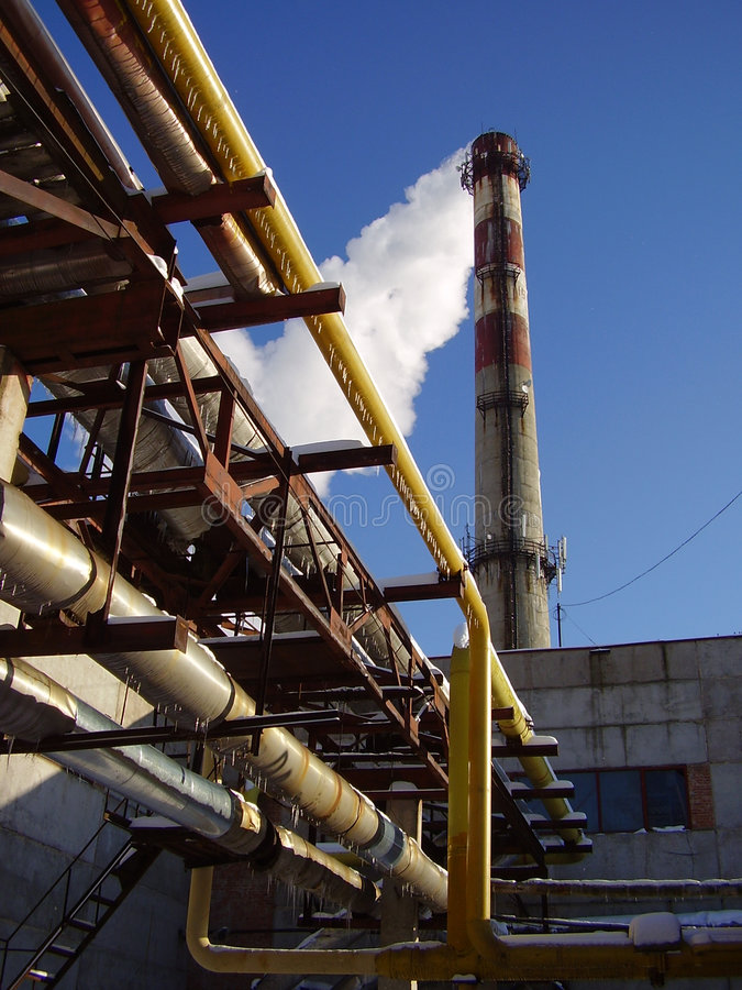 Power station stock photo. Image of thermal, boiler, energy - 2361998