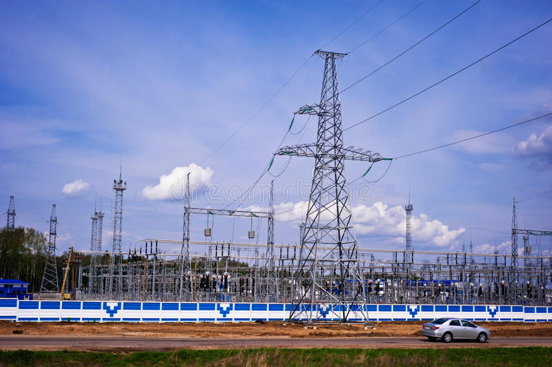 Download Power Station stock photo. Image of power, energy, line - 25036734