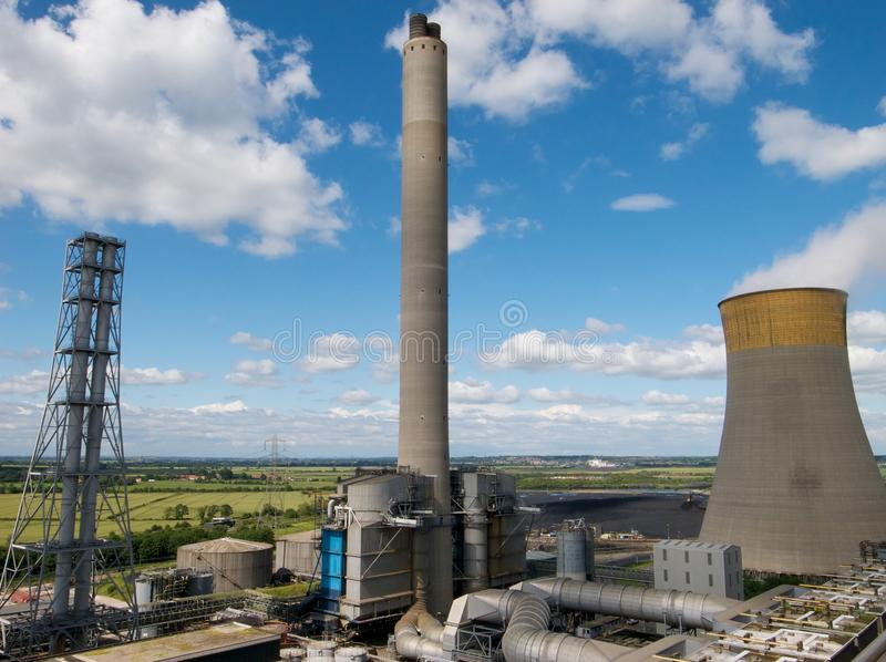 Download Power Station stock image. Image of environmental, cooling - 26760905
