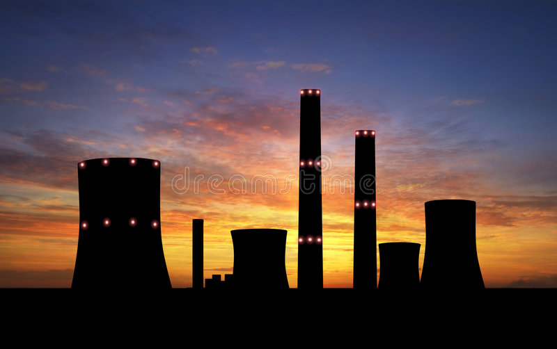 Download Power Station Royalty Free Stock Image - Image: 8993526