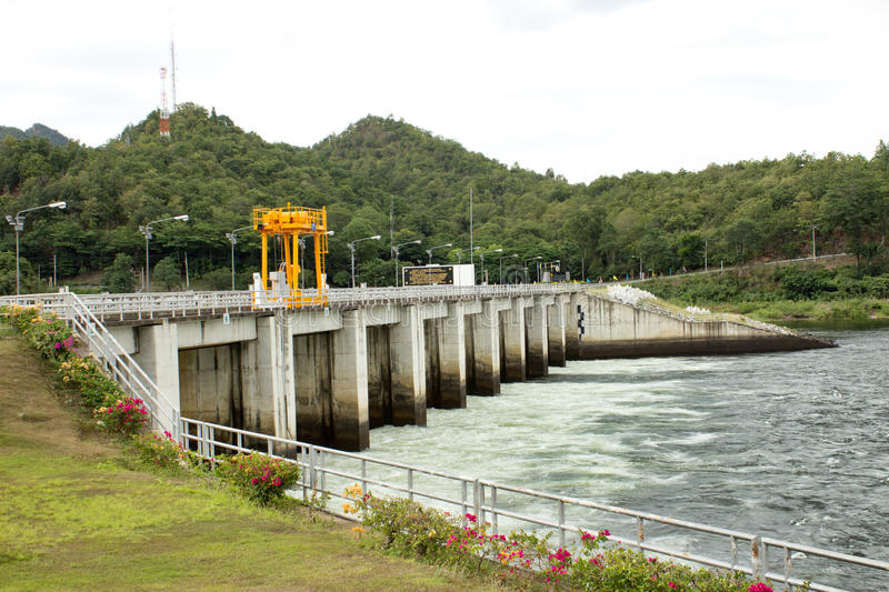 Download Power Station At The Bhumibol Dam Stock Photo - Image of development, generator: 26506298