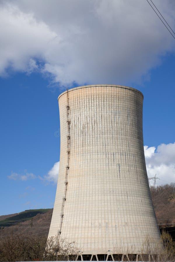 Power station Chimney stock photography
