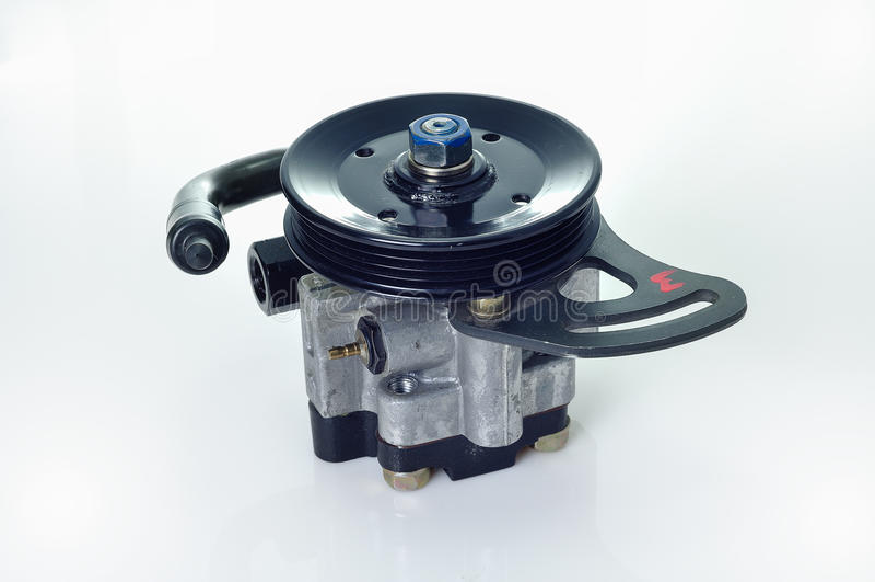 Power steering pump royalty free stock photos
