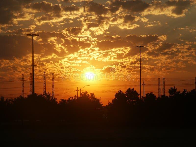 Power Sunrise Royalty Free Stock Image