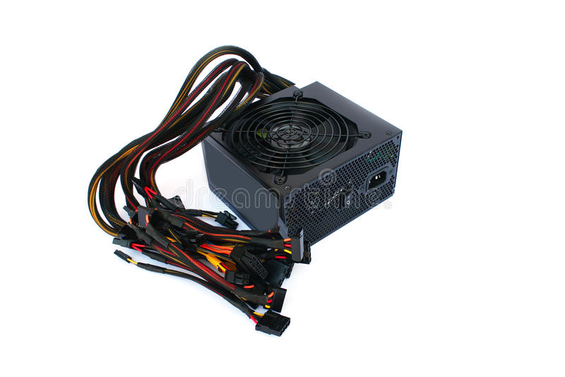 Power supply unit stock photos