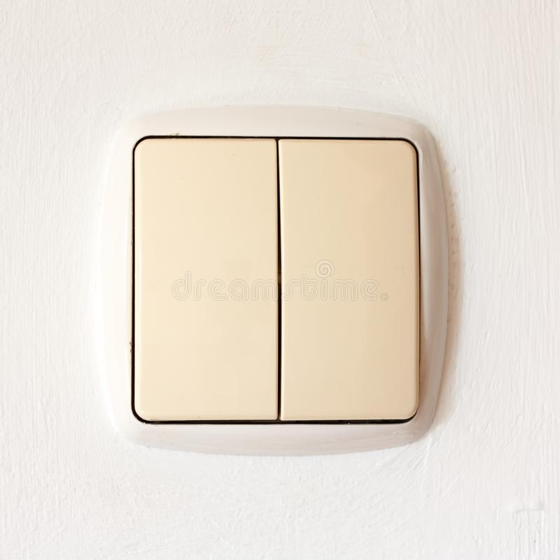 Power switch stock photography