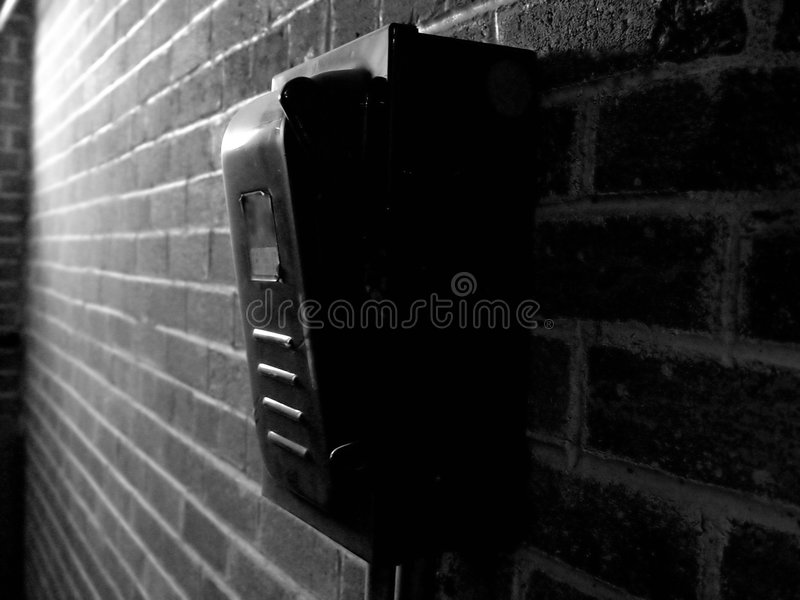 Power Switch Box royalty free stock images