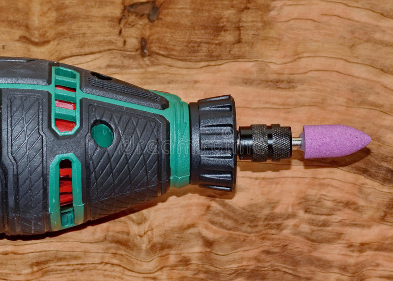 Power Tool. Rotary tool for multiple uses royalty free stock image