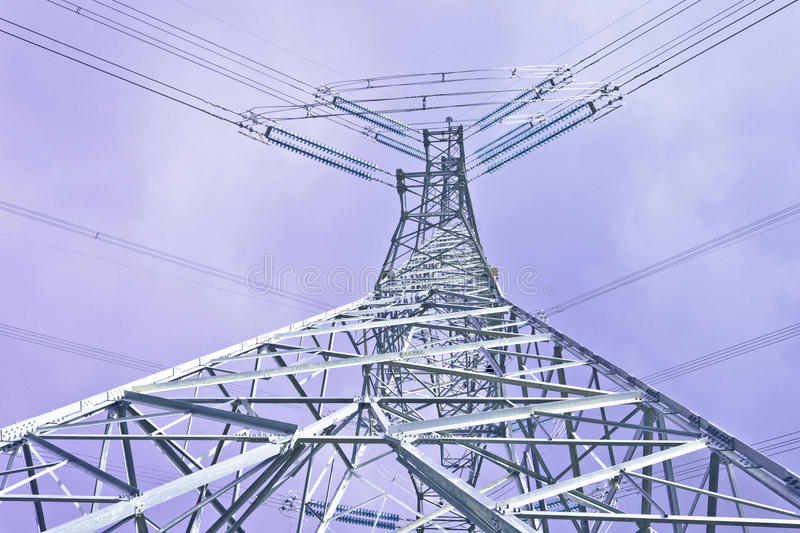 Download Power Tower stock photo. Image of engineering, electric - 22181236