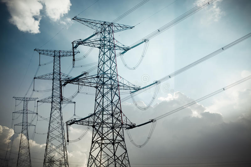 Download Power Tower Stock Photography - Image: 25154522